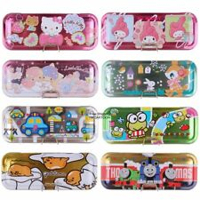 SANRIO HELLO KITTY MY MELODY GUDETAMA THE RUNABOUTS 3 LAYERS METAL PENCIL CASE
