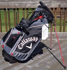 Callaway Golf XHot Stand Bag in Black / Grey BRAND NEW