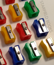Colour Pencil Sharpeners - Office Stationery School Draw Write Art Desk Supplies
