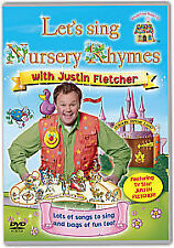 Let's Sing Nursery Rhymes With Justin Fletcher (***BRAND NEW DVD***)