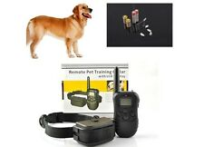 300 Yard Waterproof Rechargeable LCD Electric Remote Dog Training Shock Collar