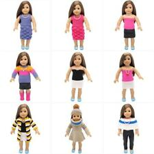 Knit Dress Clothes Set Necklace Bracelet Accesssory for 18'' American Girl Doll