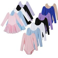 Girl Gymnastics Ballet Dance Dress Leotard Dancewear Unitard Ballerina Costume