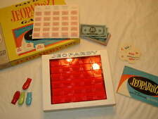 Vintage Jeopardy Board Game - Complete - 6th Edition - Milton Bradley 1964
