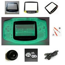 NEW GBA Nintendo Game Boy Advance Replacement Housing Shell Screen Lens Night!