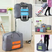 Big Size Travel Foldable Luggage Suitcase CarryOn Duffle Clothes Storage Bag New
