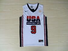 NEW MICHAEL JORDAN 1992 USA Basketball Dream Team Olympic Swingman White Jersey