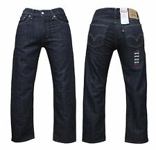 Genuine LEVIS 514 Original Mens Slim Straight Fit Denim Jeans Black