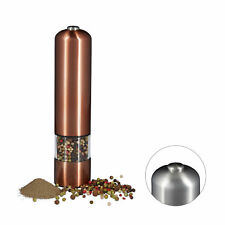 Electric Pepper Mill Salt Mill Grinder Automatic Spice Shaker Pepper Pot Battery