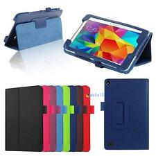 Slim Leather Folding Stand Case Cover For Amazon Kindle Fire HD 7 Tablet MT