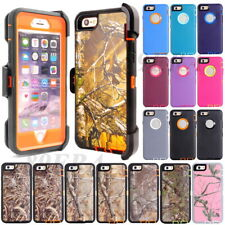 Apple iPhone 6 7 Plus Hybrid Shockproof Cases (Belt Clip Holster Fit Otterbox)