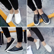 Breathable Men Driving Comfy Boat Shoes Leather Flats Moccasin Slip On Loafers