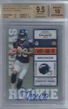 2010 Demaryius Thomas Playoff Contenders Auto RC... BGS 9.5 Gem Mint w/10 auto