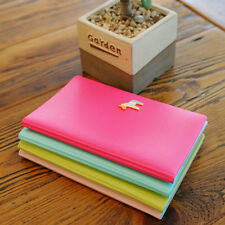 Cute Candy Faux Leather Travel Passport Holder ID Card Ticket Case Protect Cover