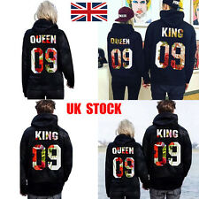 UK Unisex Men Women Couple Hoodie Sweatshirt Pullover Jumper Jacket Coat Sweater
