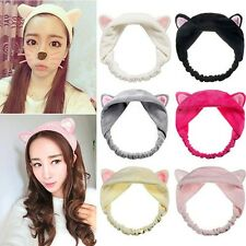 Womens Girls Grail Cute Cat Ears Headband Headdress Hair Head Band Party Gifts