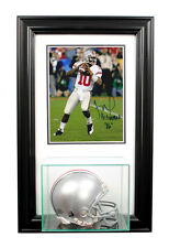 Mini Helmet and Display Case w/ 8x10 Picture Frame Combo