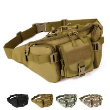 Fanny Waist Pack Belt Bag Camo Pouch Travel Water Bum Hunting Repellent Hip Pock