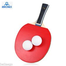 BOLI One Star Table Tennis Ping Pong Racket Set LONG HANDLE / SHAKE-HAND GRIP
