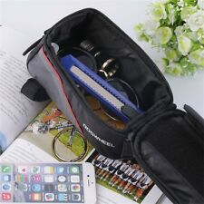 Cycling Bike Front Top Frame Pannier Tube Bag Case Pouch for Cell Phone PF