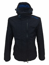 Superdry Mens Pop Zip Hooded Arctic Windcheater Jacket in Deep Marine/Mid Blue