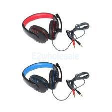 Professional Wired Gaming Headsets Over Ear Stereo Headphones w/ Mic for PC
