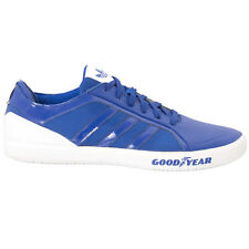 Adidas Goodyear Driver Vulc Racer Men's Shoes Sneakers Trainers Blue New Adidas