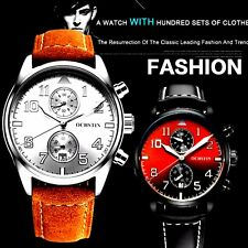 OCHSTIN Ggenuine mens leather watch water resistant auto date luxury business