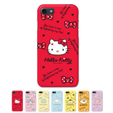Hello Kitty Characters Hard Slim Bumper Case For Apple iPhone 6 6S 6/6S Plus