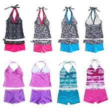 Toddler Baby Girls Kids Swimwear Swimsuit Tankini Bikini Set Beachwear Bathing