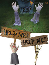 Halloween Zombie Skeleton Lawn Stakes Garden Outdoor Party Decoration Props