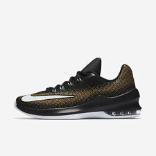 Nike Air Max Infuriate Low [852457-003] Men Basketball Shoes Black/White-Gold