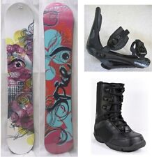 """NEW SPICE """"SAPPHIRE"""" SNOWBOARD, BINDINGS, BOOTS PACKAGE - 140cm, 155cm"""