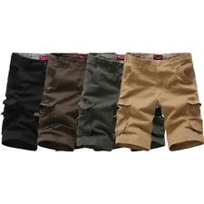 Mens Summer Shorts Army Camouflage Combat Camo Cargo Army Shorts Pants Trousers