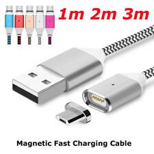 1M 2M 3M Magnetic Adapter Charger USB Charging Cable For iPhone 5 6 6S 7 8 Plus