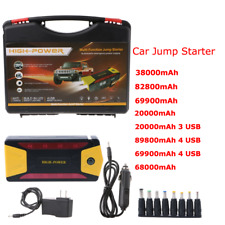 Portable 20000-69900mAh Car Jump Starter Pack Booster Charger Battery Power Bank