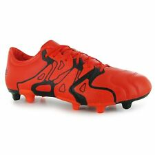 adidas X 15.2 Leather FG Firm Ground Football Boots Mens Or Soccer Cleats Shoes