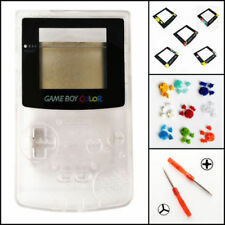 Nintendo Game Boy Color GBC Replacement Housing Shell Screen Clear BUTTONS!