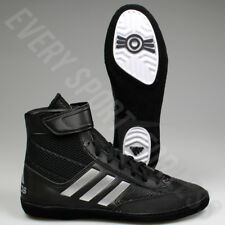 Adidas Combat Speed 5 Mens Wrestling Shoes BA8007 Black / Silver (NEW) Lists@$85