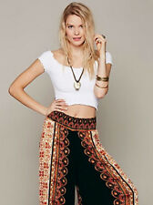 NEW Free People Intimately Smocked Crop Top in White Size XS/S & M/L $54.11