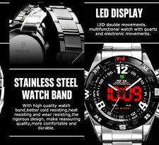 weide MENS watch WH2310 analog digital led backlight water resistant