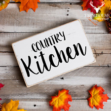 Country Kitchen Sign   Rustic Sign   Fall Sign   Farmhouse Sign   Country Sign