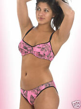 NAKED NORTH PINK CAMO CAMOUFLAGE LINGERIE BRA