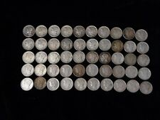 Mixed Lot of 50 Silver Mercury Dimes - US Coins - #3004