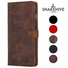 Snakehive® Samsung Galaxy A5 (2015) Vintage Leather Wallet Phone Case Card Slots