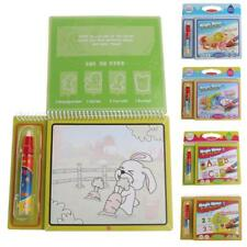 Water Drawing Book Painting Graffiti Mat Board Magic Pen Kid Baby Doodle Toy Set