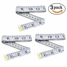 Maosifang Soft Tape Measure for Sewing Tailor Cloth Ruler 60 Inch/150 cm,3 Pack