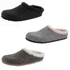 Birkenstock Kaprun Felt Mule Slip On Slippers Sandals Clogs Suede Wool Womens