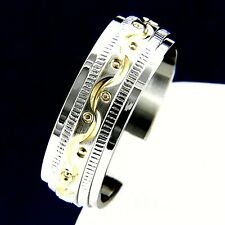 New Mens Stainless Steel Engagement Wedding Anniversary Bridal Band Ring