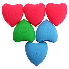 US Sexy Show Heart Shaped Silicone Soft Lip Enhangcing Pout Lips Tool Plumper